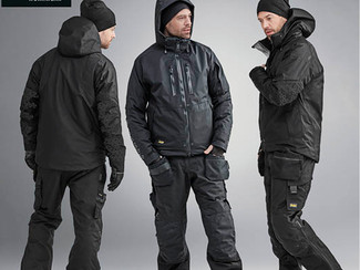 Be ready whatever the weather  with snickers' winter workwear