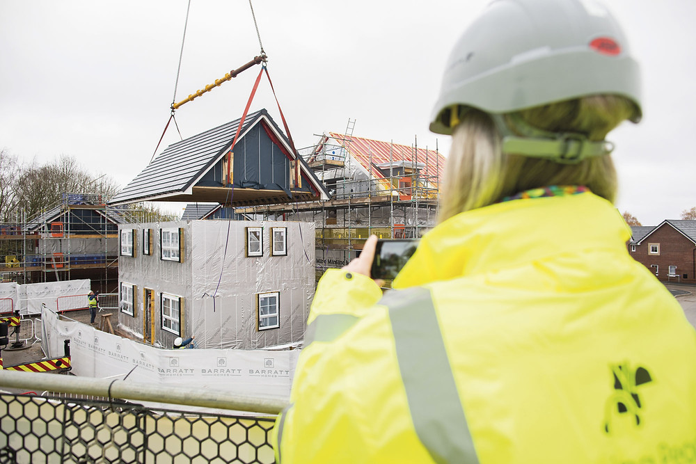 The AIMCH Transforming Homes project will impact the way future homes are built
