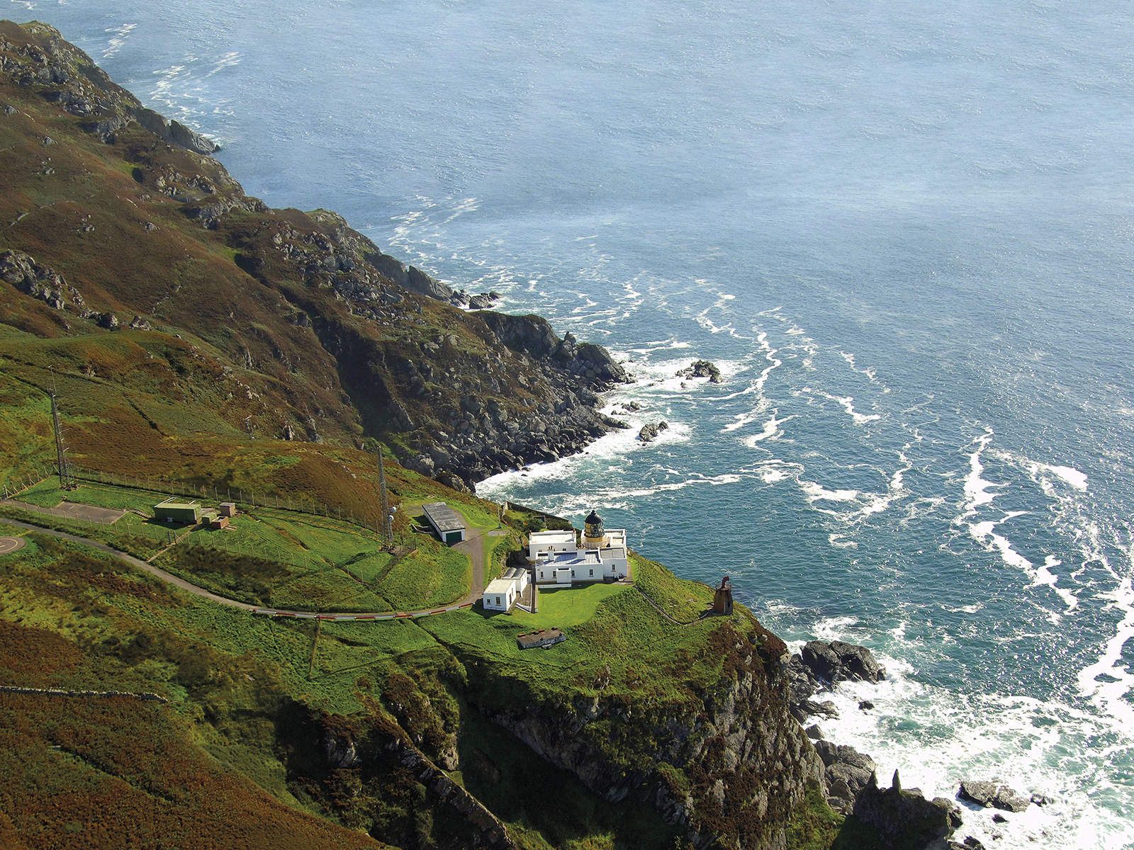 Mull-of-Kintyre-lighthouse-ariel-view
