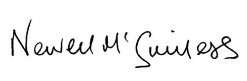 Newell McGuiness – Signature