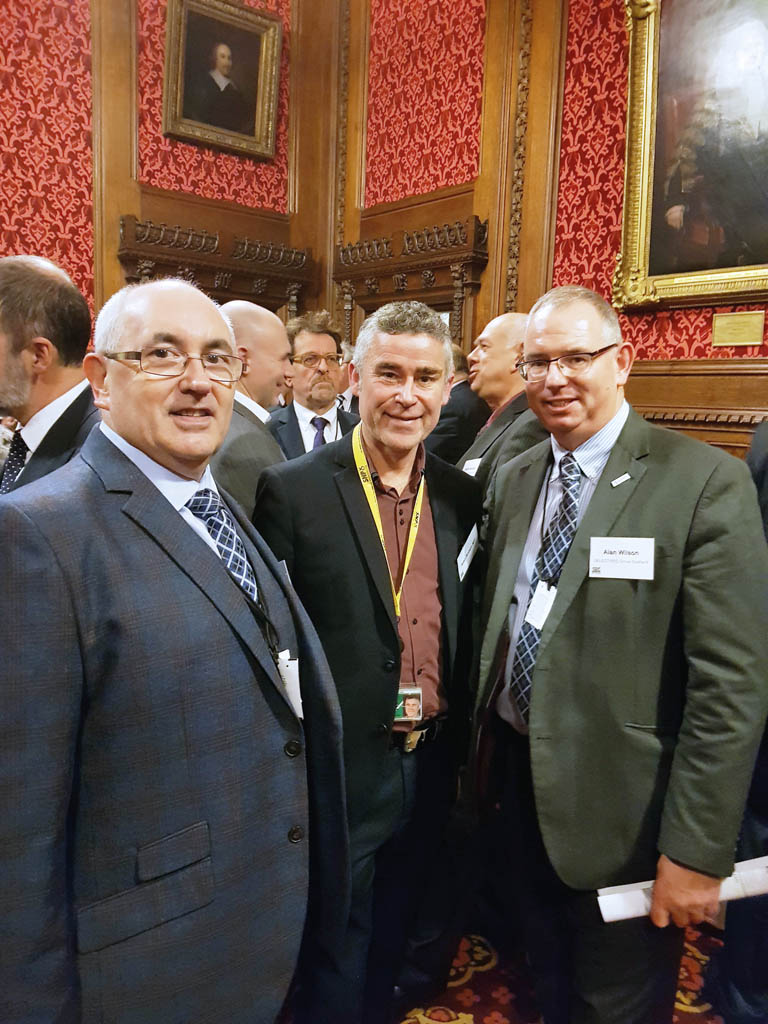 From left: Eric Rae, SELECT Immediate Past President, Alan Brown MP and Alan Wilson, SELECT Acting Managing Director