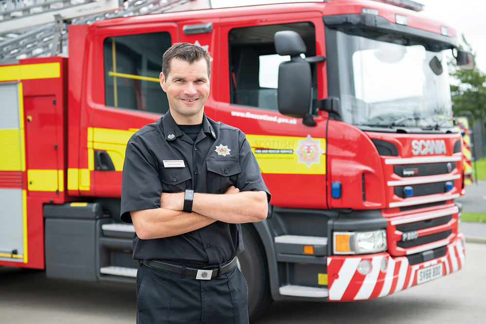 David Dourley, Head of Fire Investigations, Scottish Fire and Rescue Service