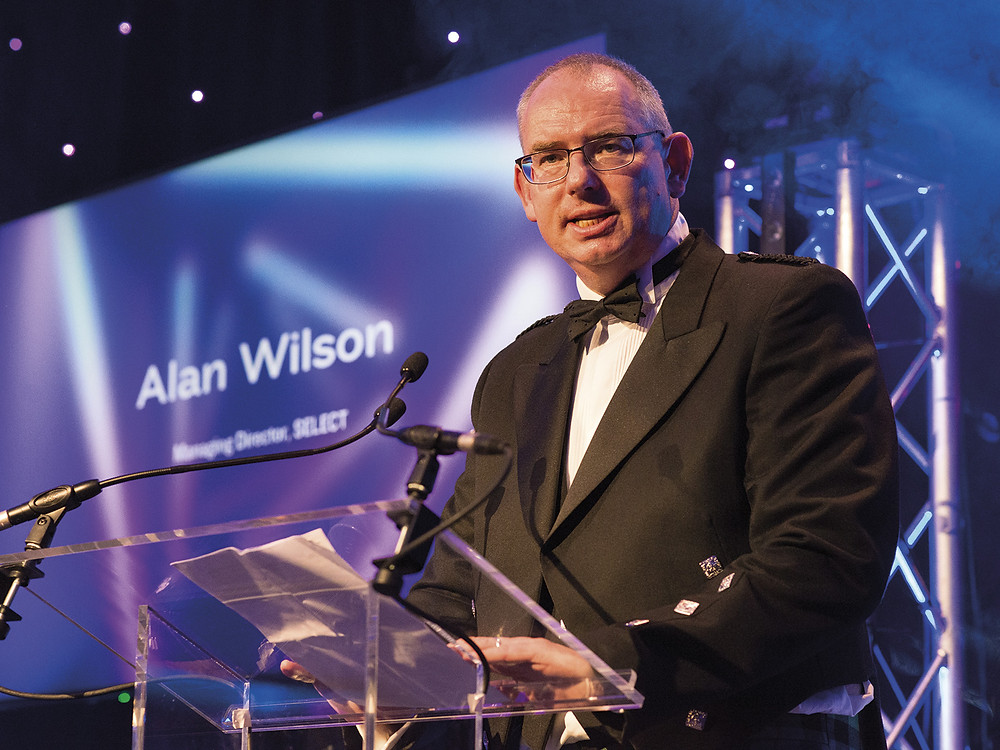 Alan Wilson, Managing Director of SELECT