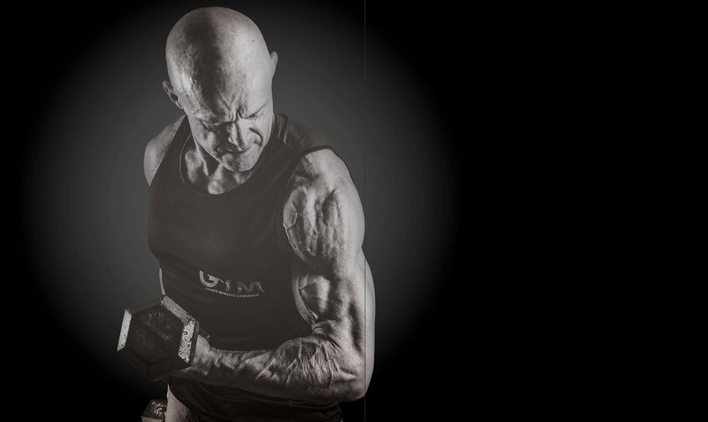 Joe Buchanan, bodybuilder and electrician