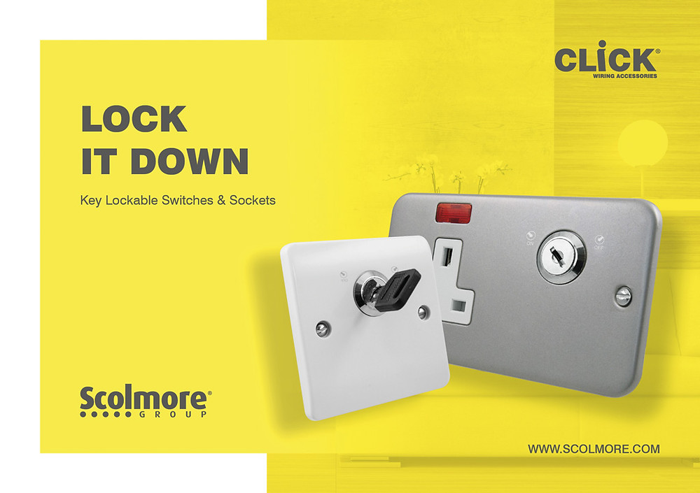 Lock it down, the Scomore locable switches and sockets