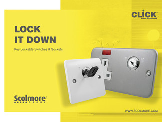 Scolmore has the key to more secure switches and sockets
