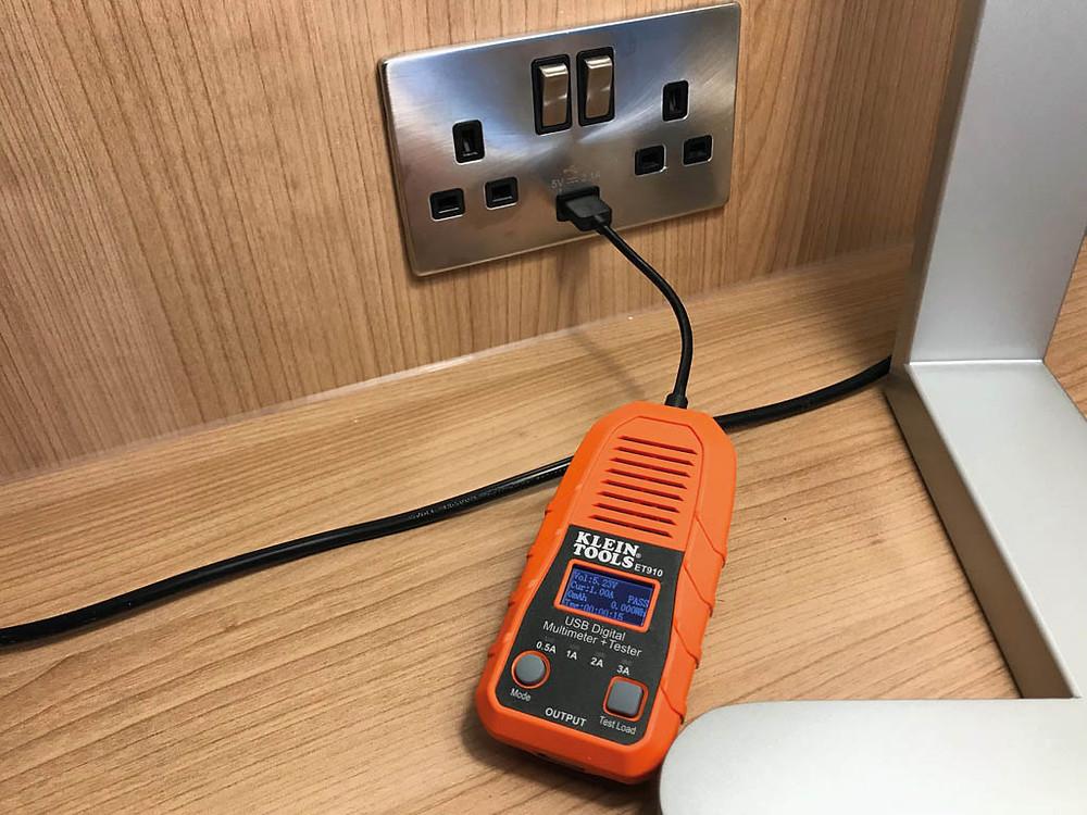 Klein Tools USB tester