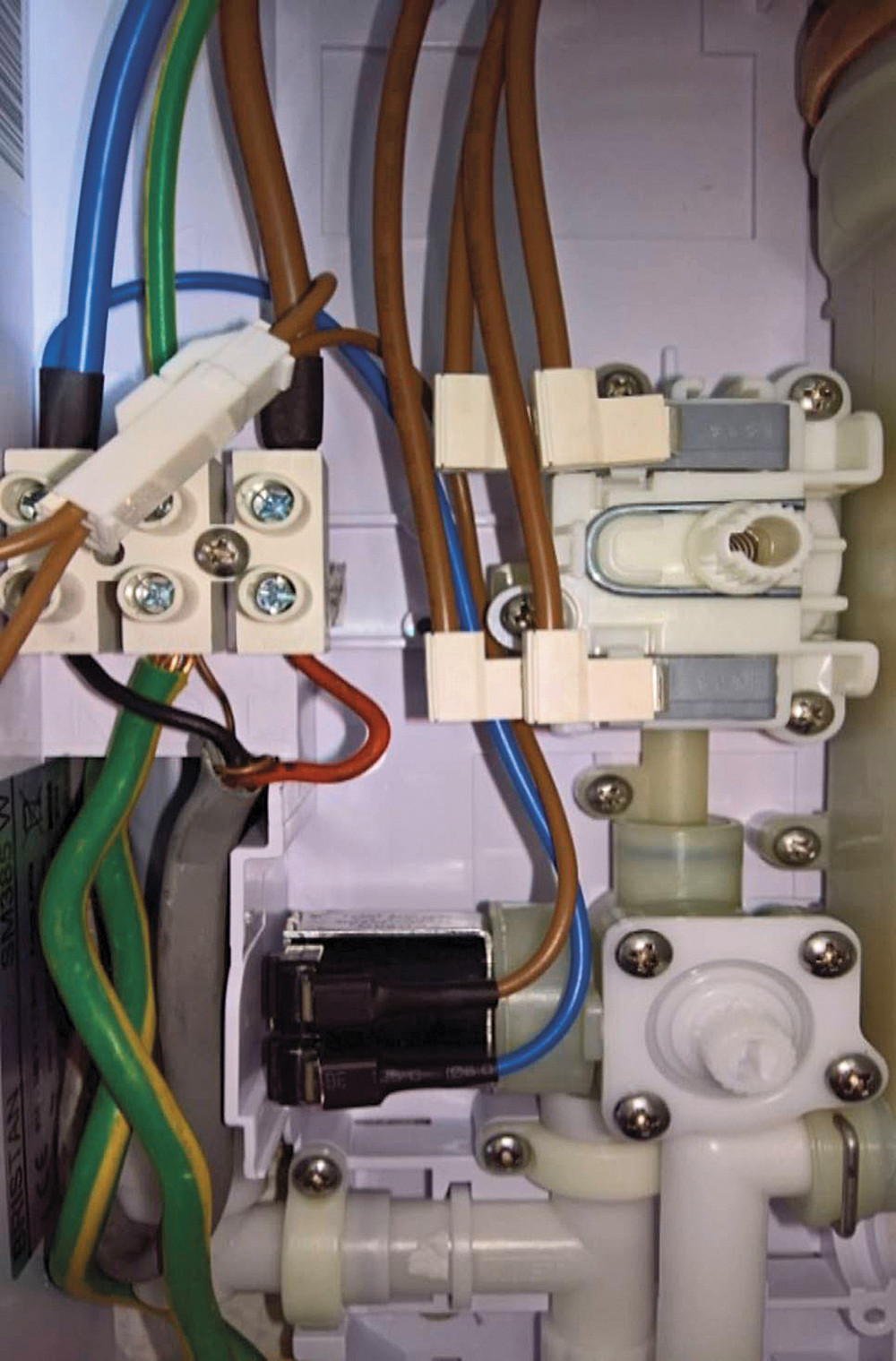 The householder was concerened about the wiring