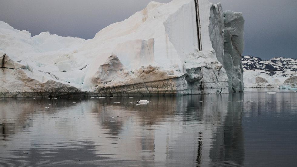 Iceberg line, Greenland