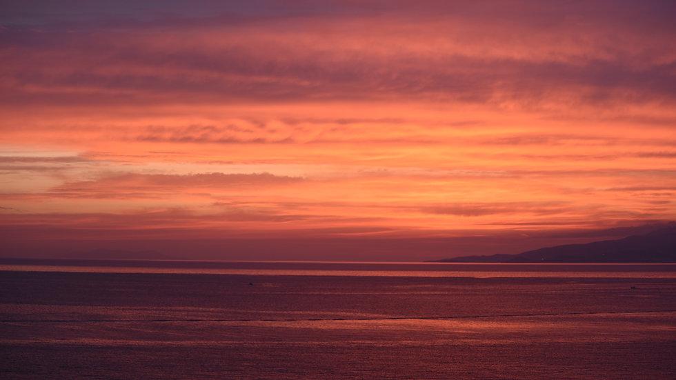 Aegean sunset II