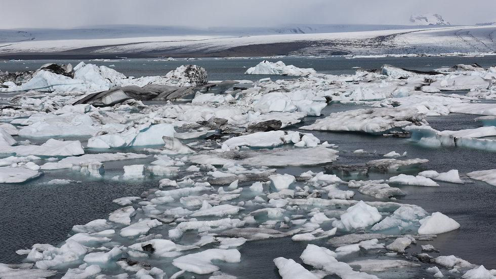 Iceland - ice pieces