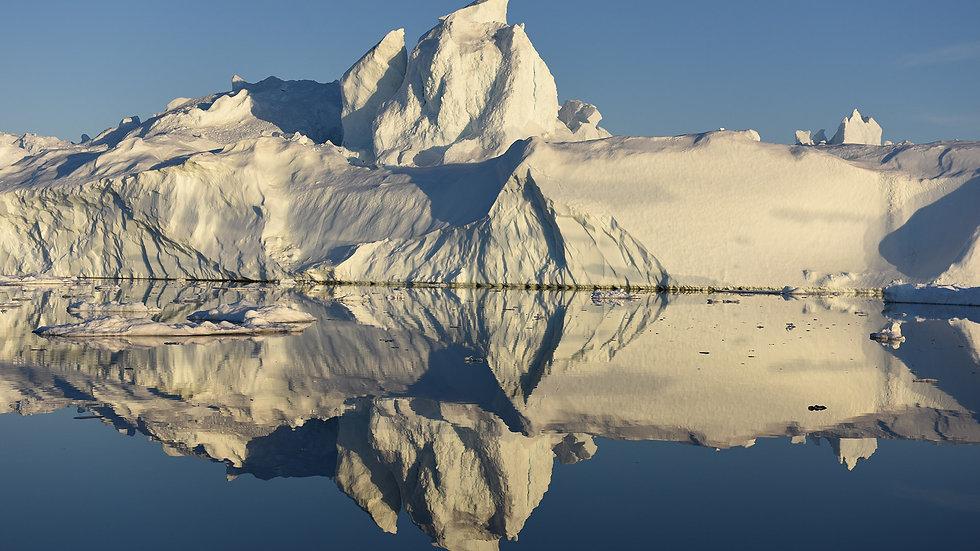 Iceberg symmetry, Greenland