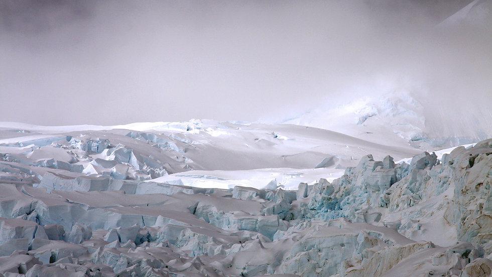 Glacier close up, Antarctica