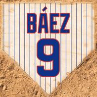 Baez Home Plate