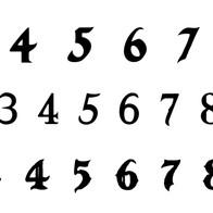 Hexere Numbers