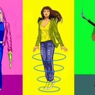 Teen Characters Designs