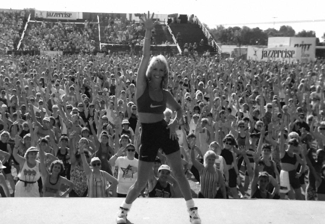 1995, Thousands attend JazzerJam with premier sponsor Nike, San Diego