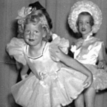 Judi's first recital, age 3