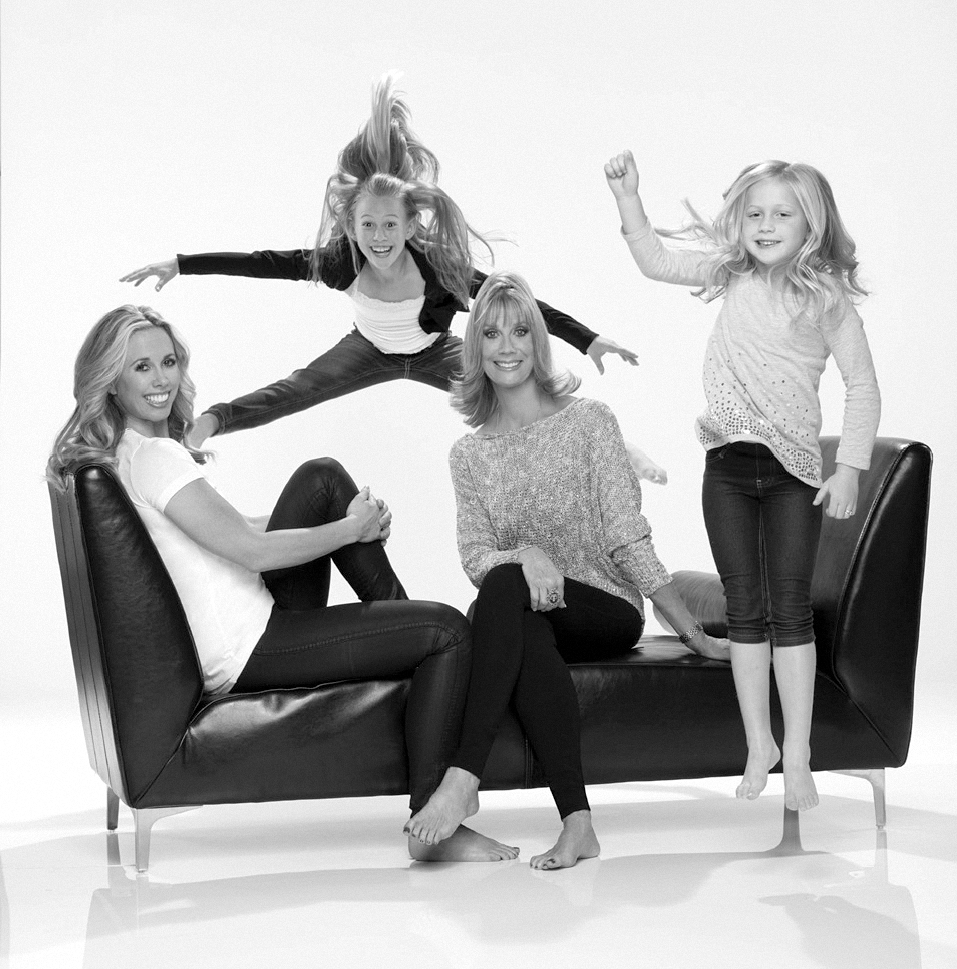 2012, Judi with daughter Shanna Missett Nelson and granddaughters Skyla and Sienna