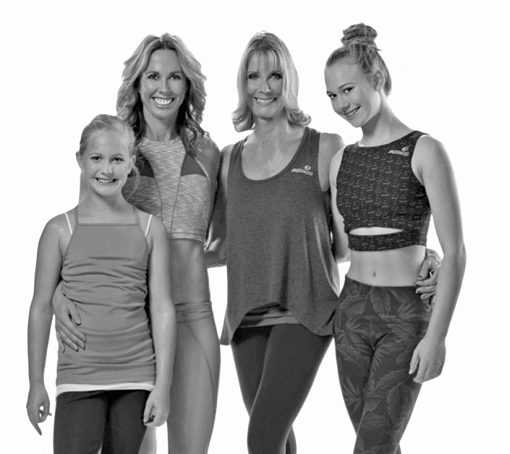 2017, Judi with daughter Shanna Missett Nelson and granddaughters Skyla and Sienna