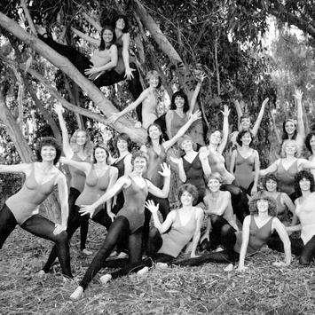 1978, The first ten Jazzercise instructors plus a dozen more