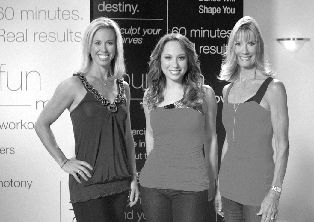 2009, Jazzercise signs on Two-time Champion of Dancing with the Stars Cheryl Burke as company's first celebrity spokesperson to star in national advertising campaign
