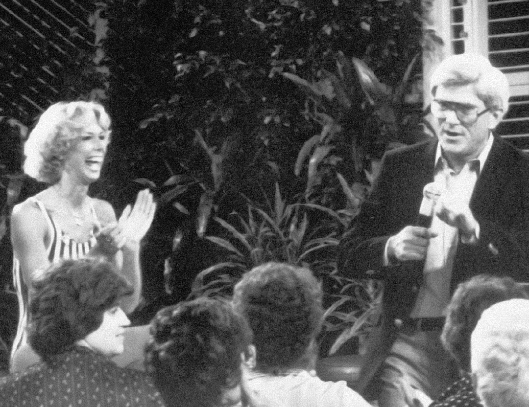 1981, Judi appears on the Phil Donahue show