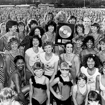 1984, The first Jazzercise home workout videocassette, titled Jazzercise, goes gold with 25,000 copies sold