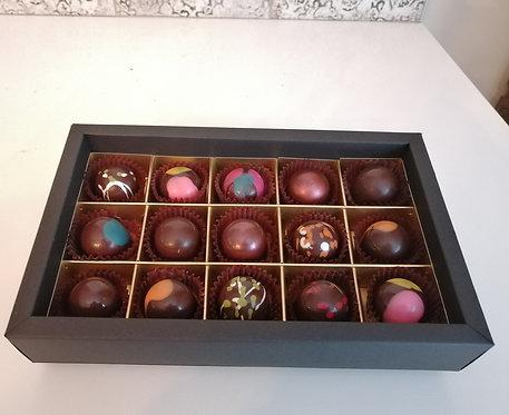 Boîte de 15 chocolats
