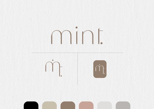 mintfashion.nl  - graphic design branding
