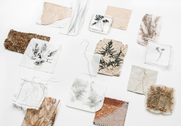 Brand design materials