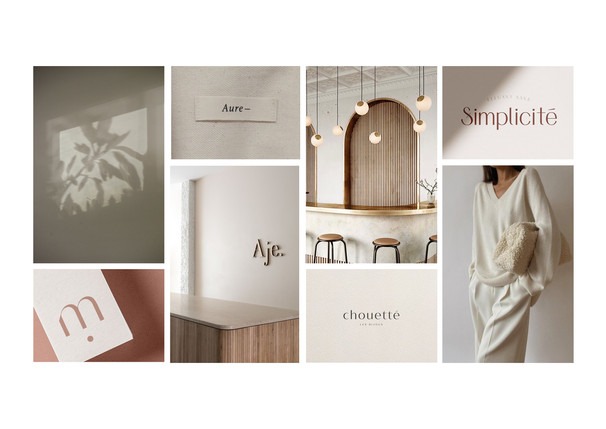 mintfashion.nl  - graphic design branding moodboard