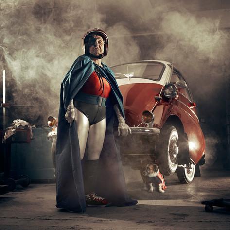 """""""Super Mamika"""" · Sasha Goldberger"""