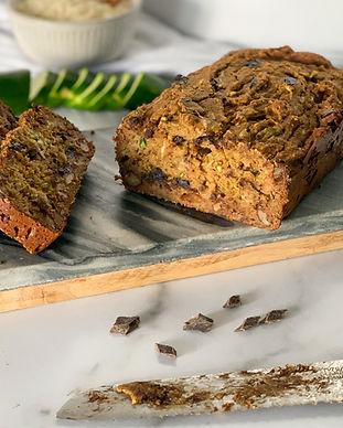 Sugar-free Vegan Zucchini Bread Recipe