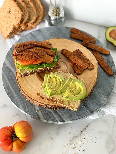plant based sandwich