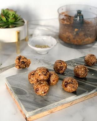 Oatmeal Raisin Cookie Dough Bites Recipe