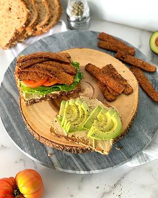 Vegan BLTA Sandwich Recipe