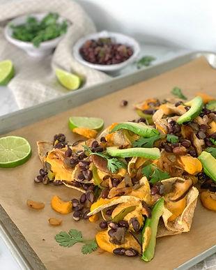 Oil-free Loaded Vegan Nachos Recipe