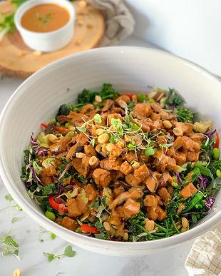 Spicy Thai Peanut Salad Recipe