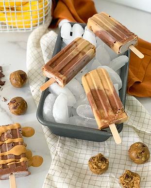 Peanut Butter Cookie Dough Fudgesicles Recipe