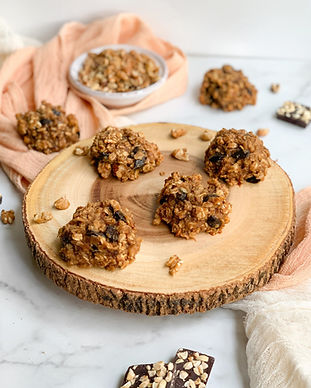 Low Glycemic Peanut Butter Oatmeal Breakfast Cookies Recipe