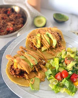 Spicy Lentil Tacos Recipe