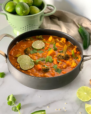 Creamy Vegan Indian Curry Recipe