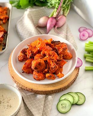 Spicy Buffalo Cauliflower Wings Recipe