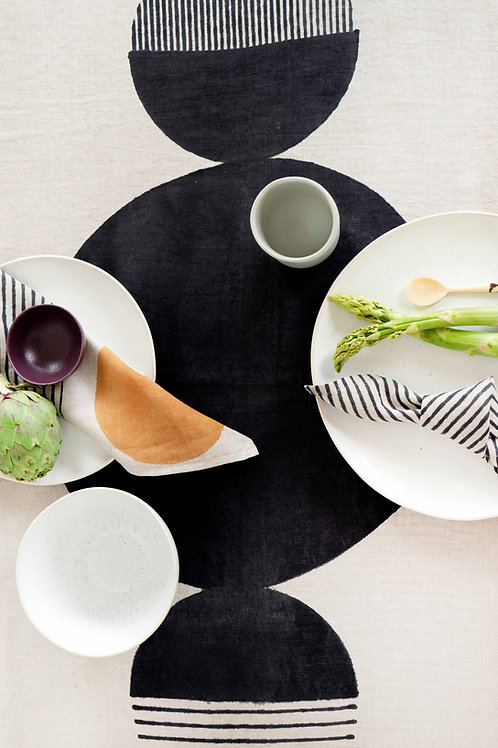 Set aus 4 Servietten und Tischläufer