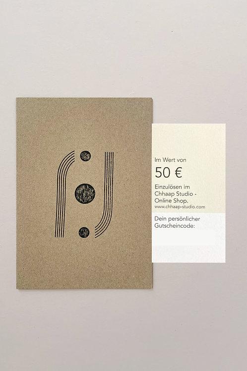 Gutschein 150€