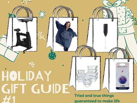Holiday Gift Guide: Part 1