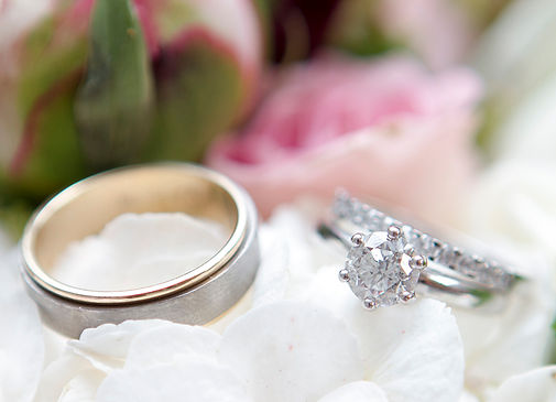 Wedding photos wedding ring by Zena Photography