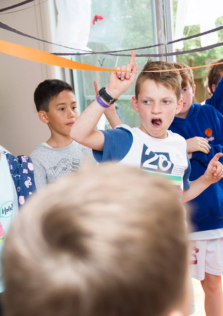 kids party photography by Zena Photograp