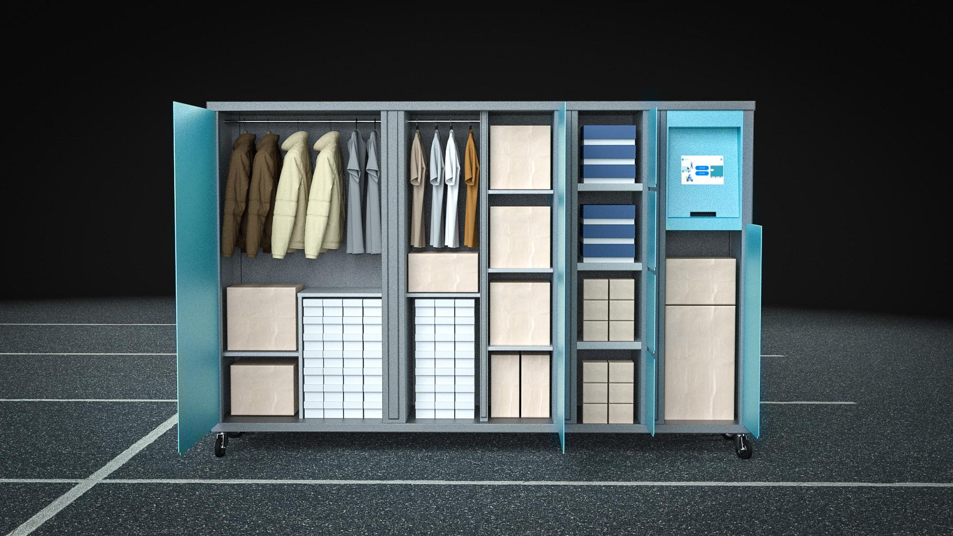 Diversas utilizações - Closet + Pickup